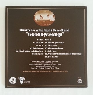 Biu Grease & The Jiquiá Brass Band - Goodbye Songs [Compacto] na internet