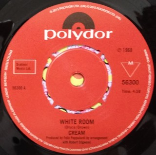 Cream - White Room / Those Were The Days [Compacto] - 180 Selo Fonográfico