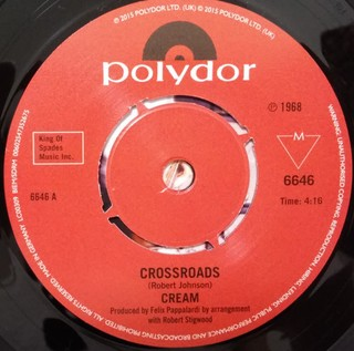 Cream - Crossroads / Passing The Time [Compacto] - 180 Selo Fonográfico