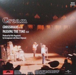 Cream - Crossroads / Passing The Time [Compacto] na internet