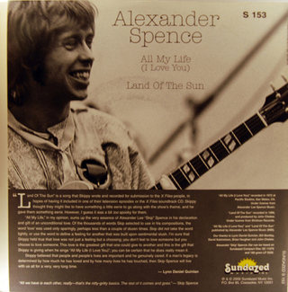 Alexander Spence - All My Life (I Love You) [Compacto] - 180 Selo Fonográfico