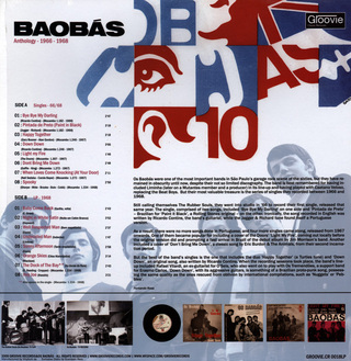 Baobás - Anthology: 1966-1968 [LP] na internet