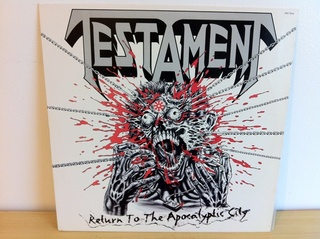 Testament - Return To The Apocalyptic City [LP] na internet