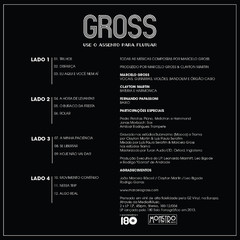 Gross - Use o assento para flutuar [LP Duplo]