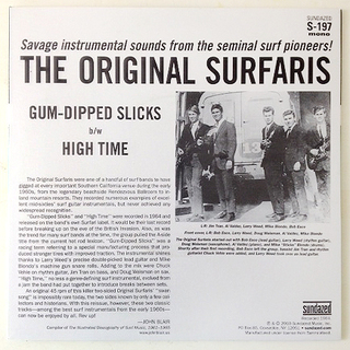 Original Surfaris - Gum-Dipped Slicks [Compacto] na internet
