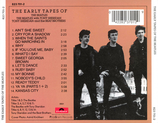 Beatles - The Early Tapes of The Beatles with Tony Sheridan [CD] na internet