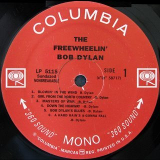 Bob Dylan - The Freewheelin' Bob Dylan [LP] - loja online