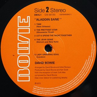 Imagem do David Bowie - Aladdin Sane [LP]