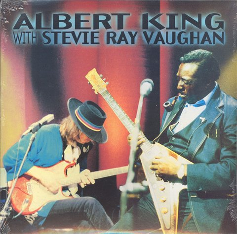 Albert King and Stevie Ray Vaughan ‎– In Session [LP]