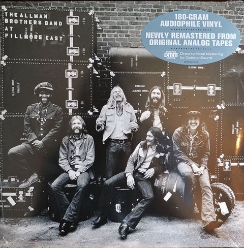 Allman Brothers Band - The Allman Brothers Band At Fillmore East [LP Duplo]