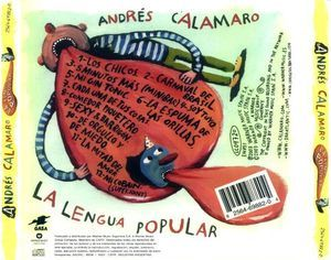 Andrés Calamaro ‎- La Lengua Popular [CD] na internet