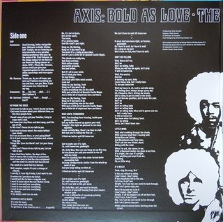 Imagem do Jimi Hendrix Experienced - Axis: Bold As Love [LP]