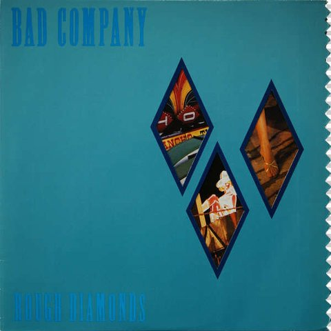 Bad Company ‎– Rough Diamonds [LP]