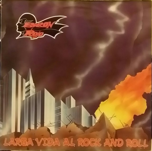 Barón Rojo - Larga Vida Al Rock And Roll [LP]