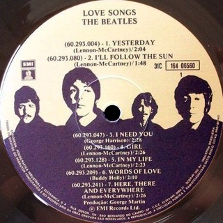 Beatles - Love Songs [LP Duplo]  na internet
