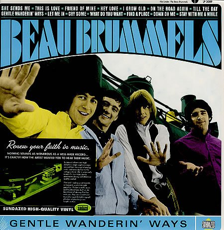 Beau Brummels - Gentle Wanderin' Ways [LP]