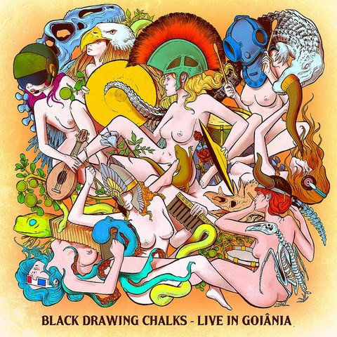 Black Drawing Chalks - Live in Goiânia [CD]