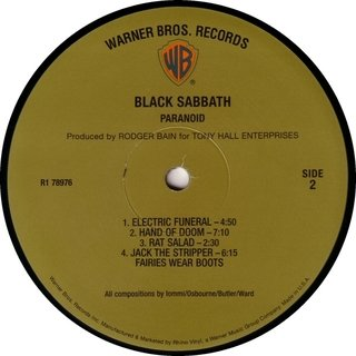 Imagem do Black Sabbath - Paranoid [LP]