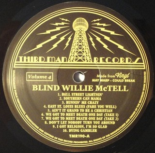 Blind Willie McTell - Complete Recorded Works In Chronological Order Vol. 4 [LP] na internet