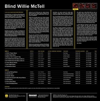 Blind Willie McTell - Complete Recorded Works In Chronological Order Vol. 1 [LP] - comprar online