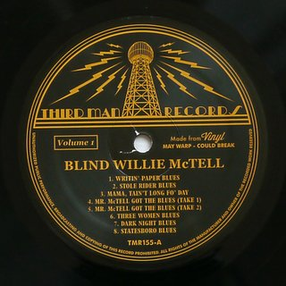 Blind Willie McTell - Complete Recorded Works In Chronological Order Vol. 1 [LP] na internet