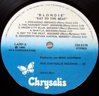 Blondie - Eat To The Beat [LP]  - 180 Selo Fonográfico