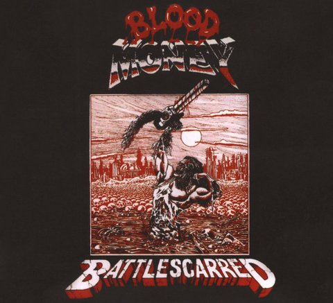 Blood Money - Battle Scarred [CD]