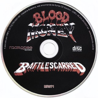 Blood Money - Battle Scarred [CD] - 180 Selo Fonográfico