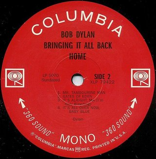 Bob Dylan - Bringing It All Back Home [LP] - 180 Selo Fonográfico
