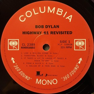 Bob Dylan - Highway 61 Revisited [LP] na internet