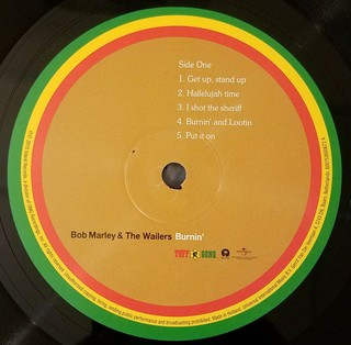 Imagem do Bob Marley and The Wailers - Burnin´ [LP]
