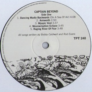 Captain Beyond - Captain Beyond [LP] - 180 Selo Fonográfico