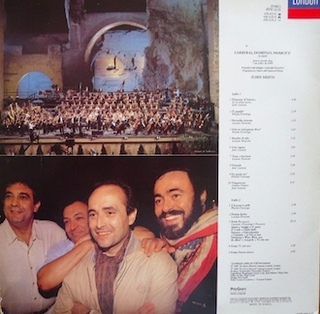 Carreras, Domingo, Pavarotti, Mehta - In Concert [LP] na internet