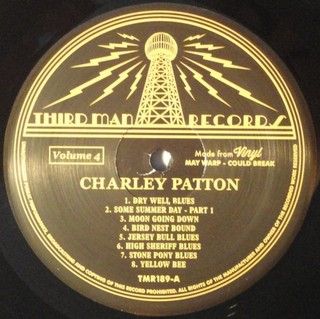 Charley Patton - Complete Recorded Works In Chronological Order Vol. 4 [LP] - 180 Selo Fonográfico