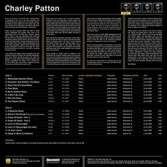 Charley Patton - Complete Recorded Works In Chronological Order Vol. 1 [LP]