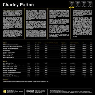 Charley Patton - Complete Recorded Works In Chronological Order Vol. 1 [LP] - comprar online
