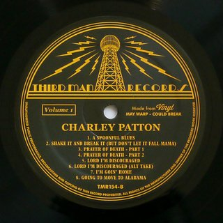Charley Patton - Complete Recorded Works In Chronological Order Vol. 1 [LP] - 180 Selo Fonográfico