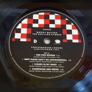 Muddy Waters & Rolling Stones - Checkerboard Lounge, Live Chicago 1981 [LP Duplo + DVD] - 180 Selo Fonográfico