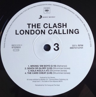Clash - London Calling [LP Duplo] na internet