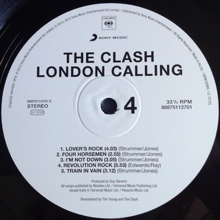 Clash - London Calling [LP Duplo] - 180 Selo Fonográfico