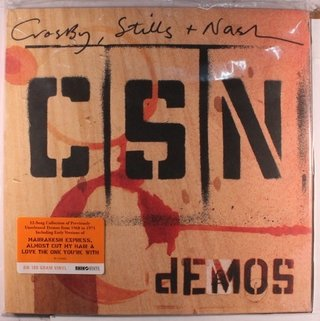 Crosby, Stills & Nash - Demos [LP] - comprar online