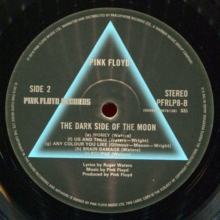 Pink Floyd - The Dark Side of the Moon [LP] - 180 Selo Fonográfico