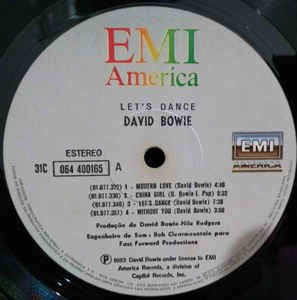 David Bowie ‎– Let's Dance [LP] - comprar online