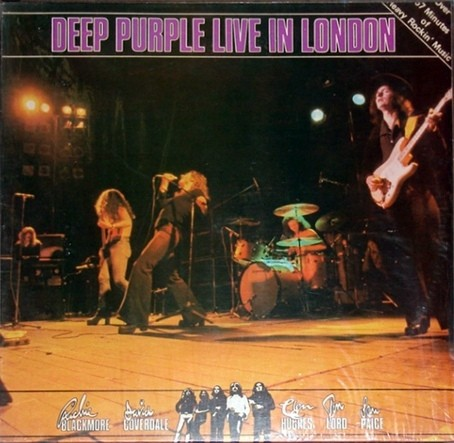 Deep Purple - Live in London [LP] - comprar online