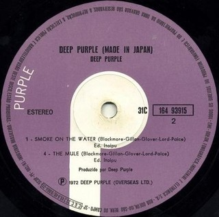 Deep Purple - Made in Japan [LP Duplo] - 180 Selo Fonográfico