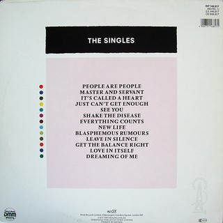 Depeche Mode - The Singles 81-85 [LP]   na internet