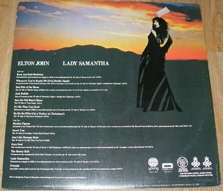 Elton John - Lady Samantha [LP] na internet