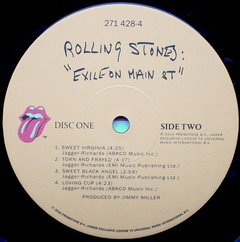 Rolling Stones - Exile On Main Street [LP Duplo]