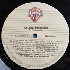 George Harrison - Cloud Nine [LP]