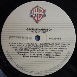 George Harrison - Cloud Nine [LP] - loja online